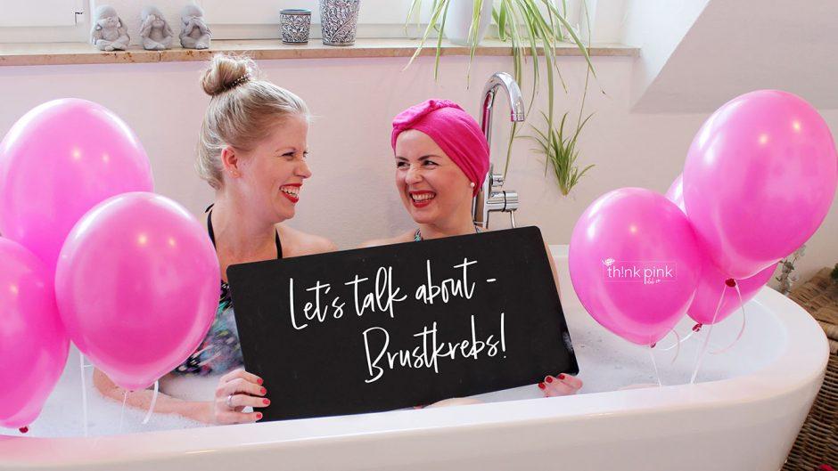 TH!NK-PINK.club, let's talk about Brustkrebs